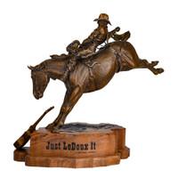 "CFD 20"" LeDoux Bronze Statue"
