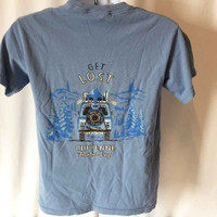 CFD Get Lost Jeep Tee