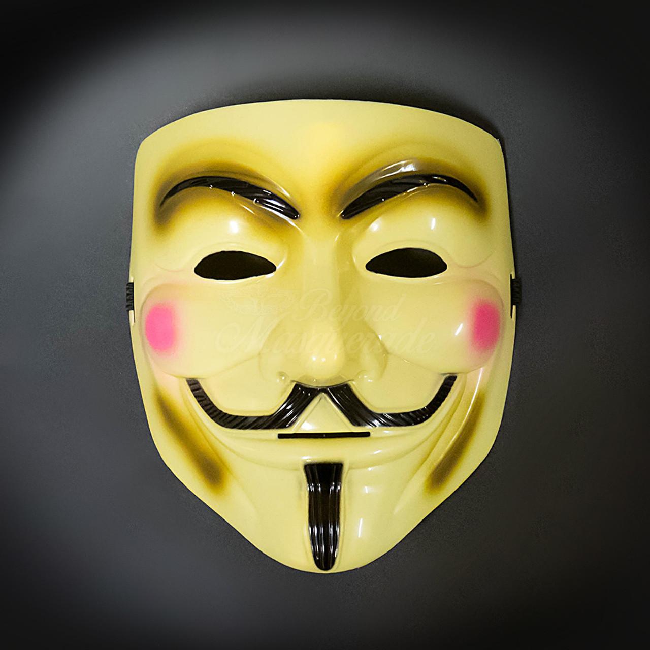 V For Vendetta Masquerade Mask For Men Usa Free Shipping