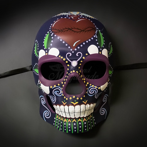 Day of the Dead Masquerade Masks Candy Skull Mask USA Free Shipping