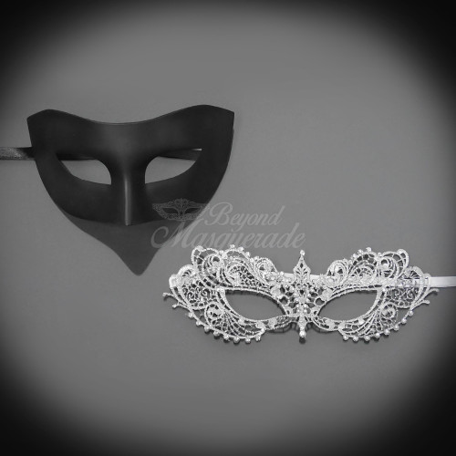 d15274279d8c Couple's masquerade masks, couple's masquerade mask, Christian Grey mask,  Christian Grey, Ana