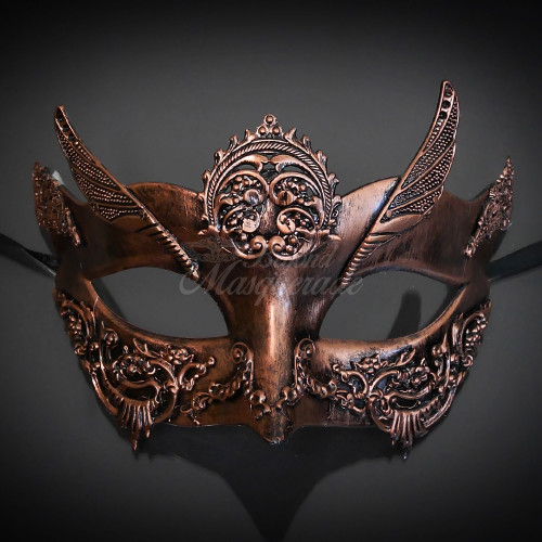99114c69e659 Copper steampunk masquerade masks, steampunk mask, women's steampunk masquerade  mask, steampunk masks