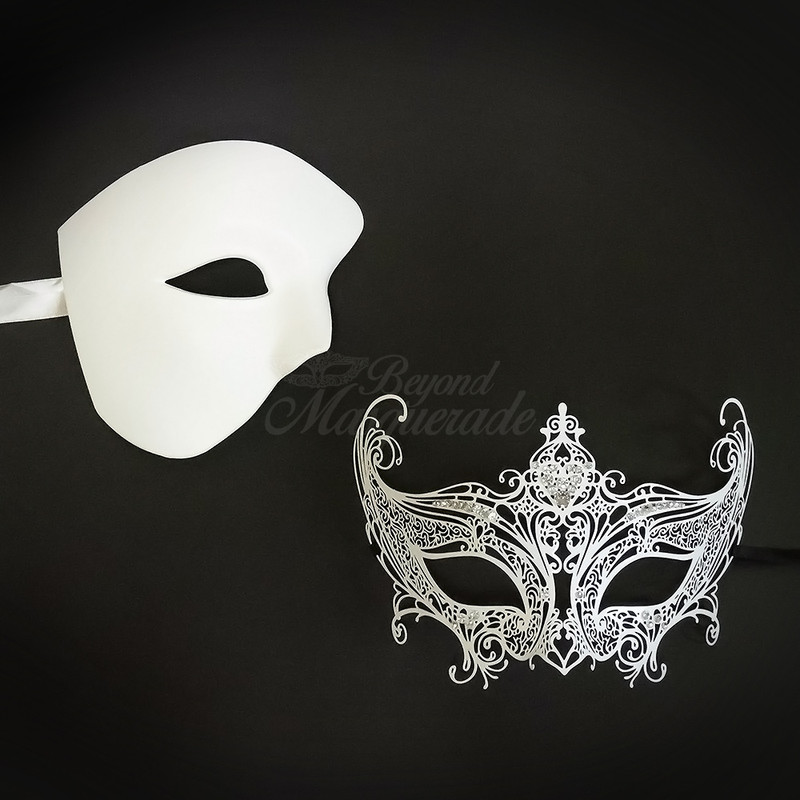 New Couples Masquerade Masks For Men And Women Usa Free Shipping