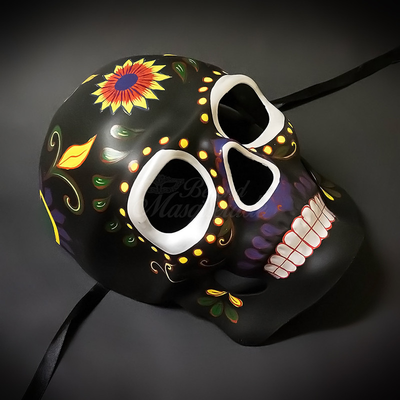10cf697ea6ee day of the dead mask, dia de los muertos, day of the dead party; Masquerade  ...