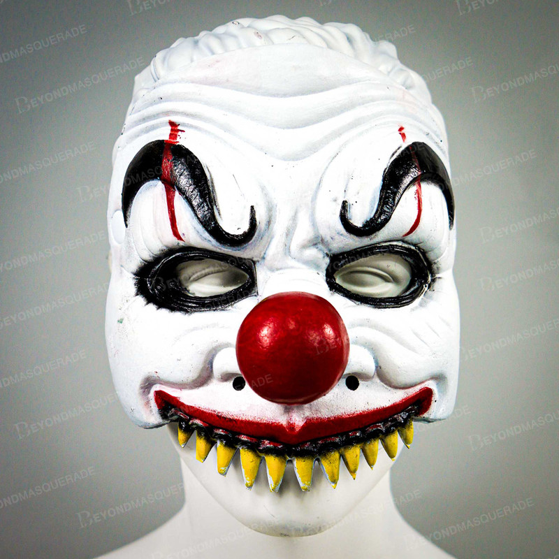 New Scary Joker Halloween Face Mask Clown Mask Hat Us Free Ship