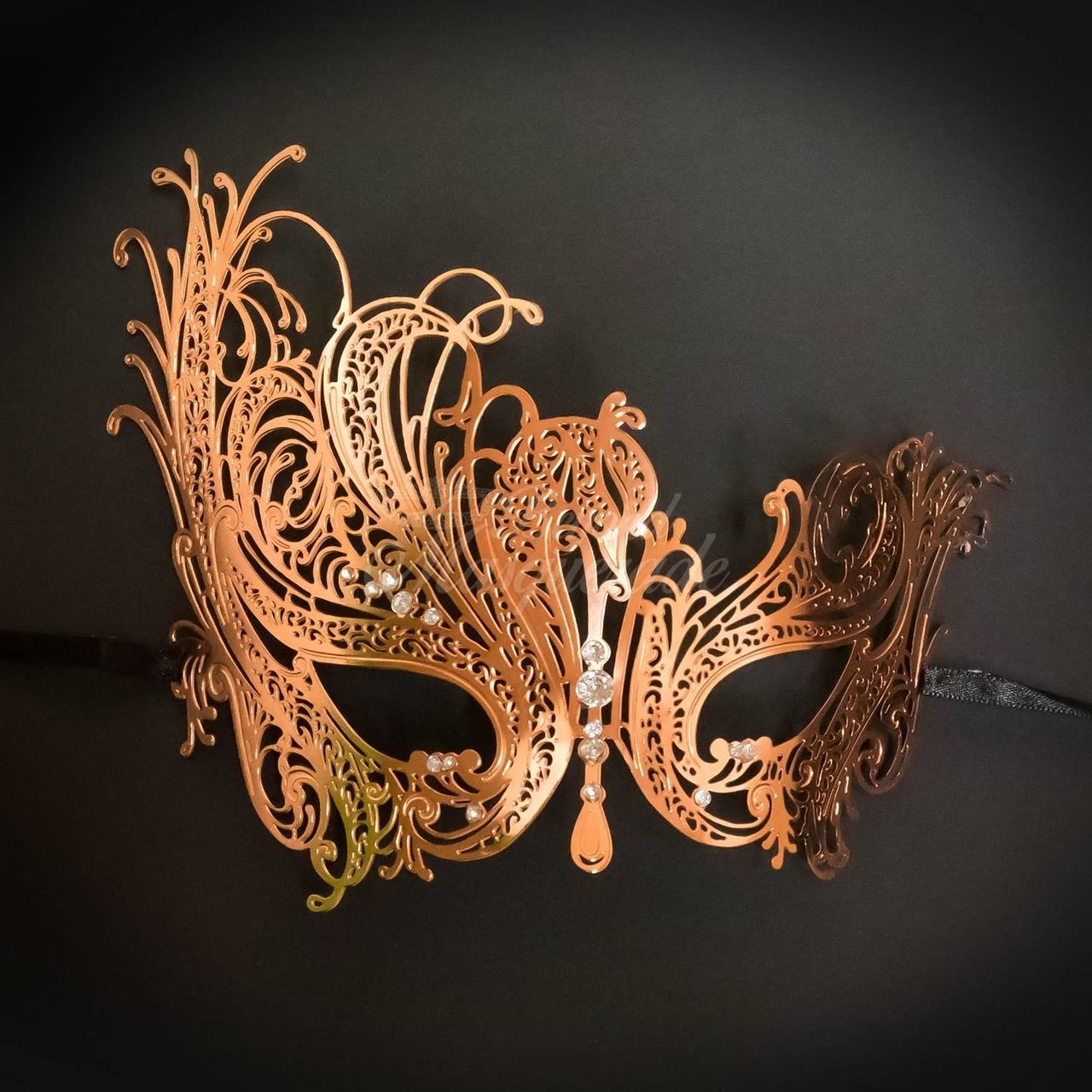 3ca3484282f4 masquerade masks, masquerade mask, Rose gold masquerade mask, rose gold mask,  rose