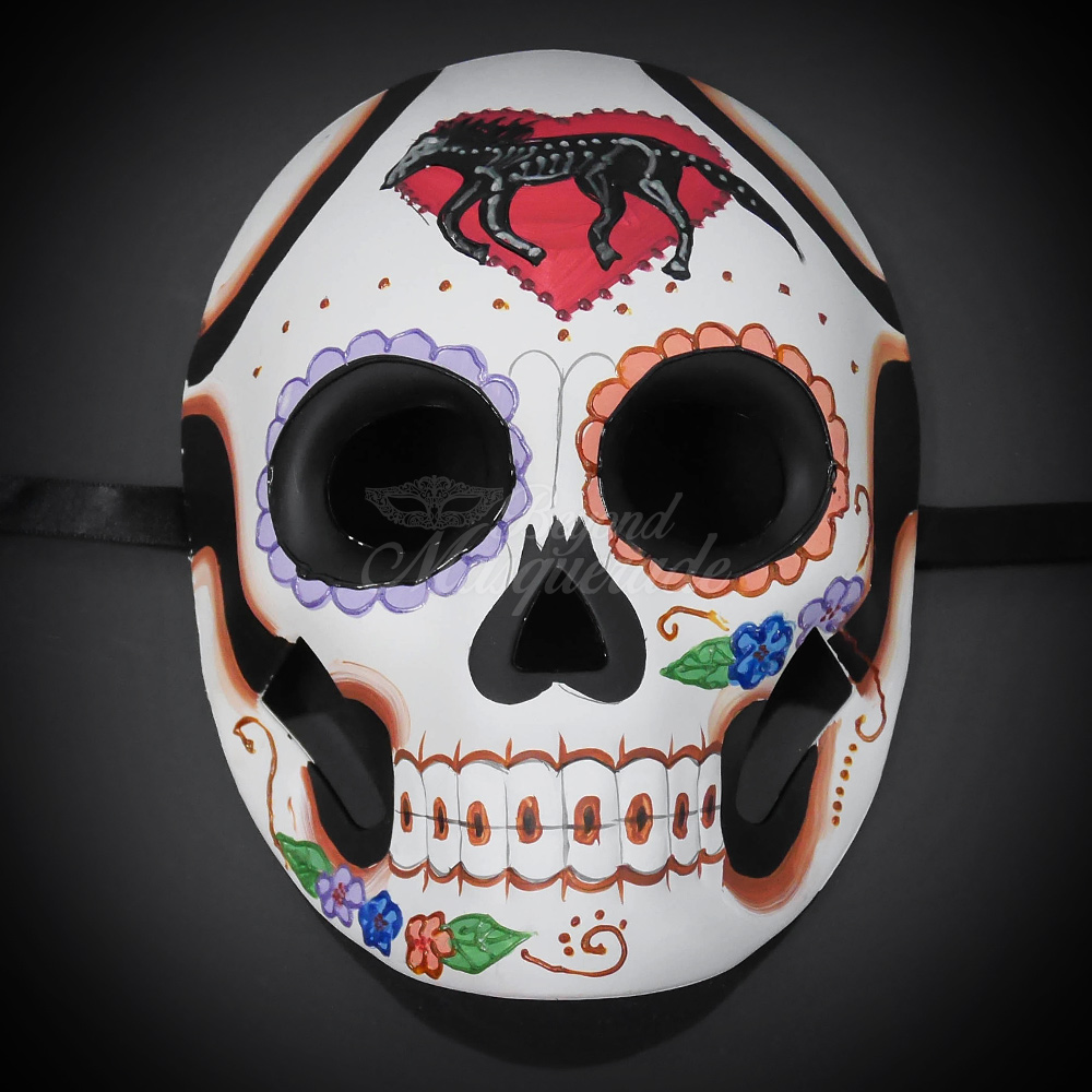 day of the dead masquerade party masks for men usa free ship
