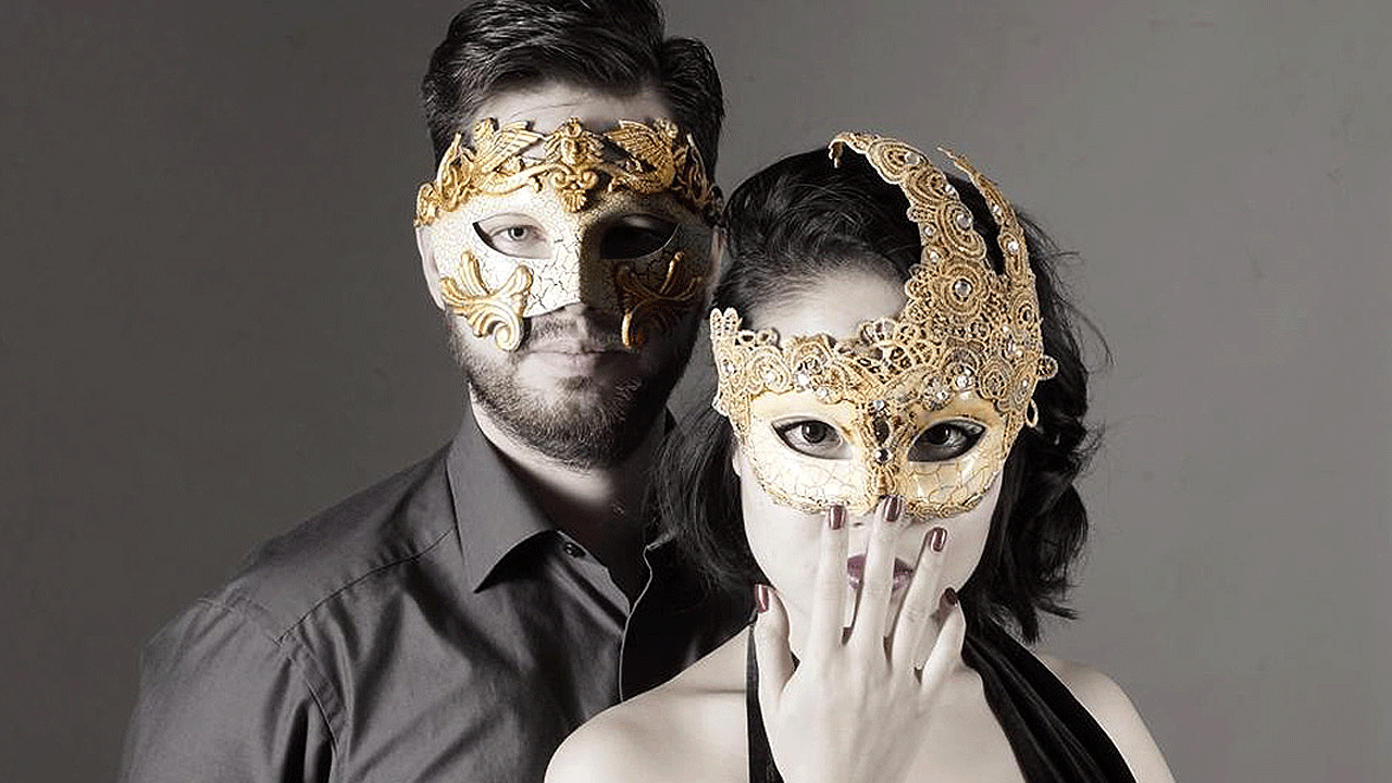 4eff48c18833 New Couple's Masquerade Masks for Women USA FREE SHIPPING