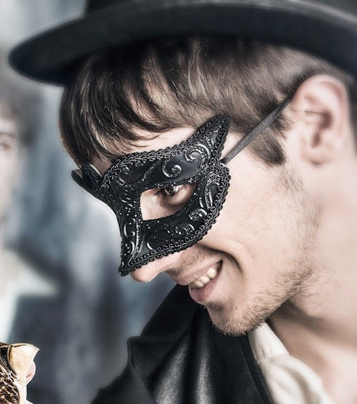 Men's masquerade mask for mask party and prom.