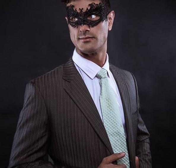 Unisex masquerade mask for masquerade ball, lace masquerade party mask.