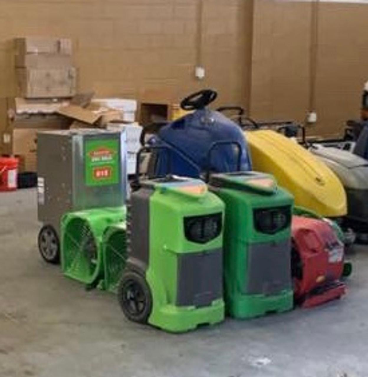 Restoration equipment repairs