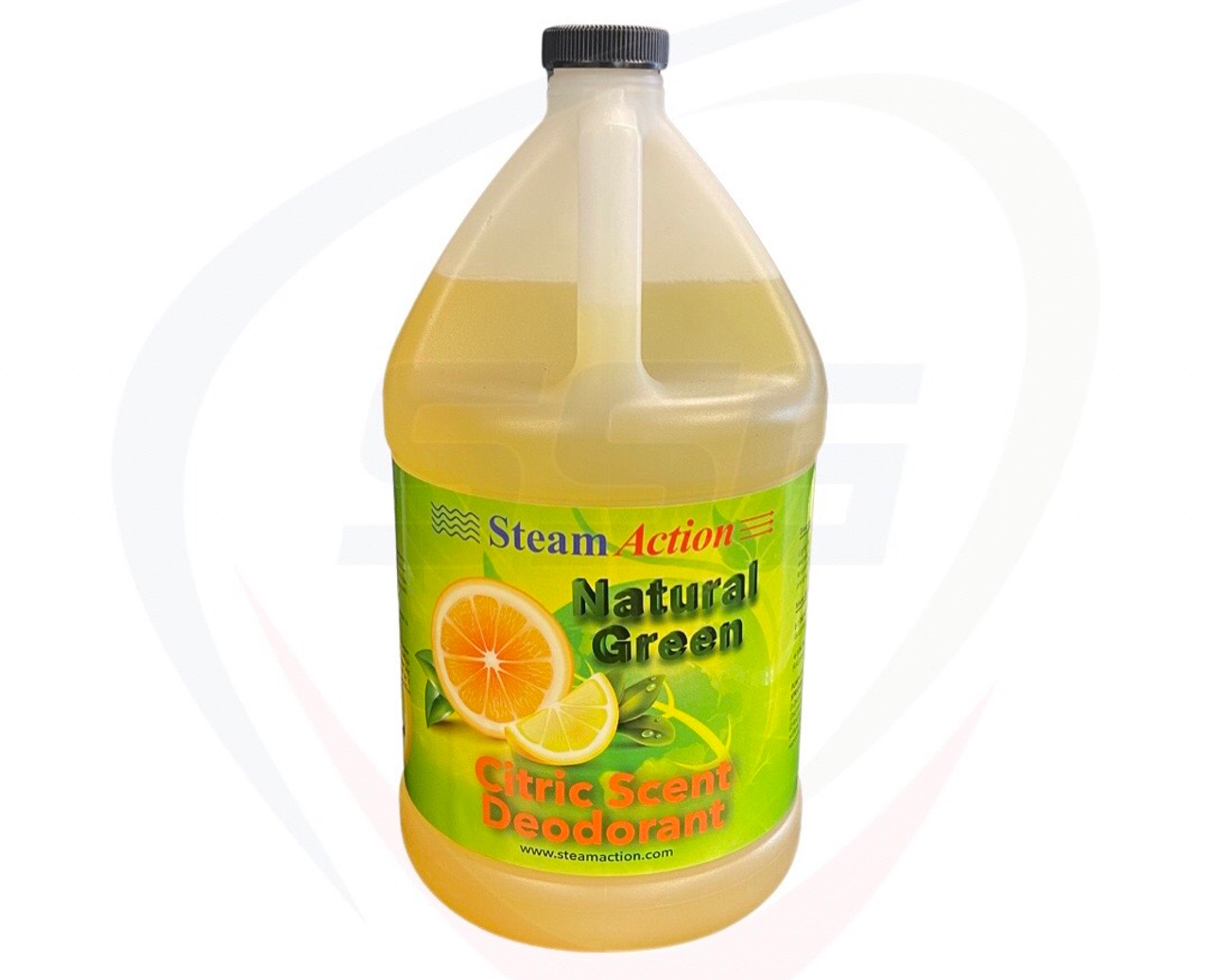 Steamaction Natural Green Citric Scent Deodorant