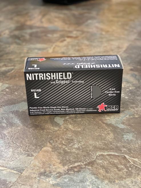 NITRISHIELD Black Powder Free Gloves