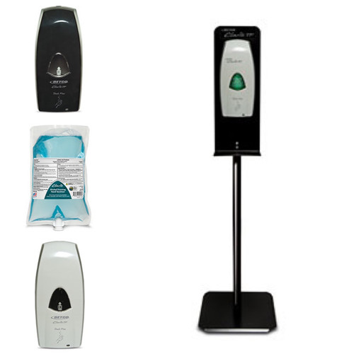 Betco Clario Dispenser System with Floor Stand