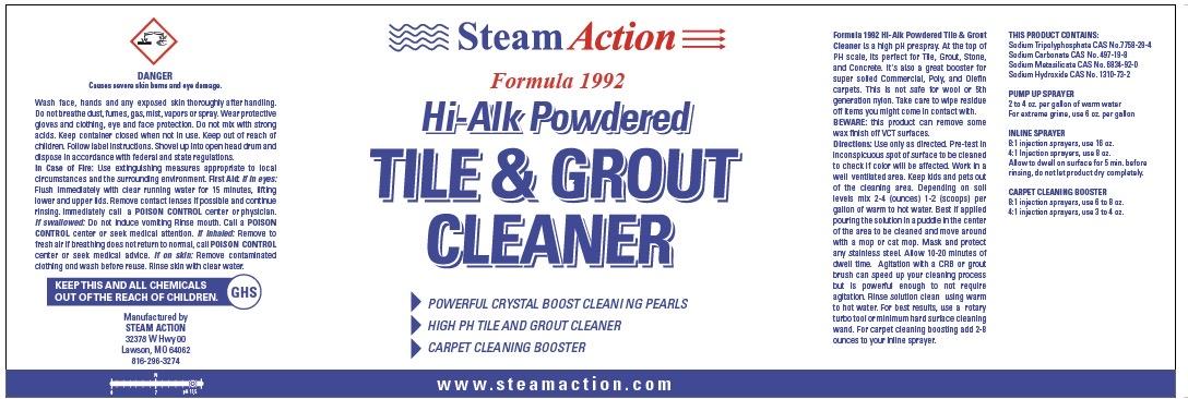 SteamAction Formula 1992 Tile / Grout Cleaner