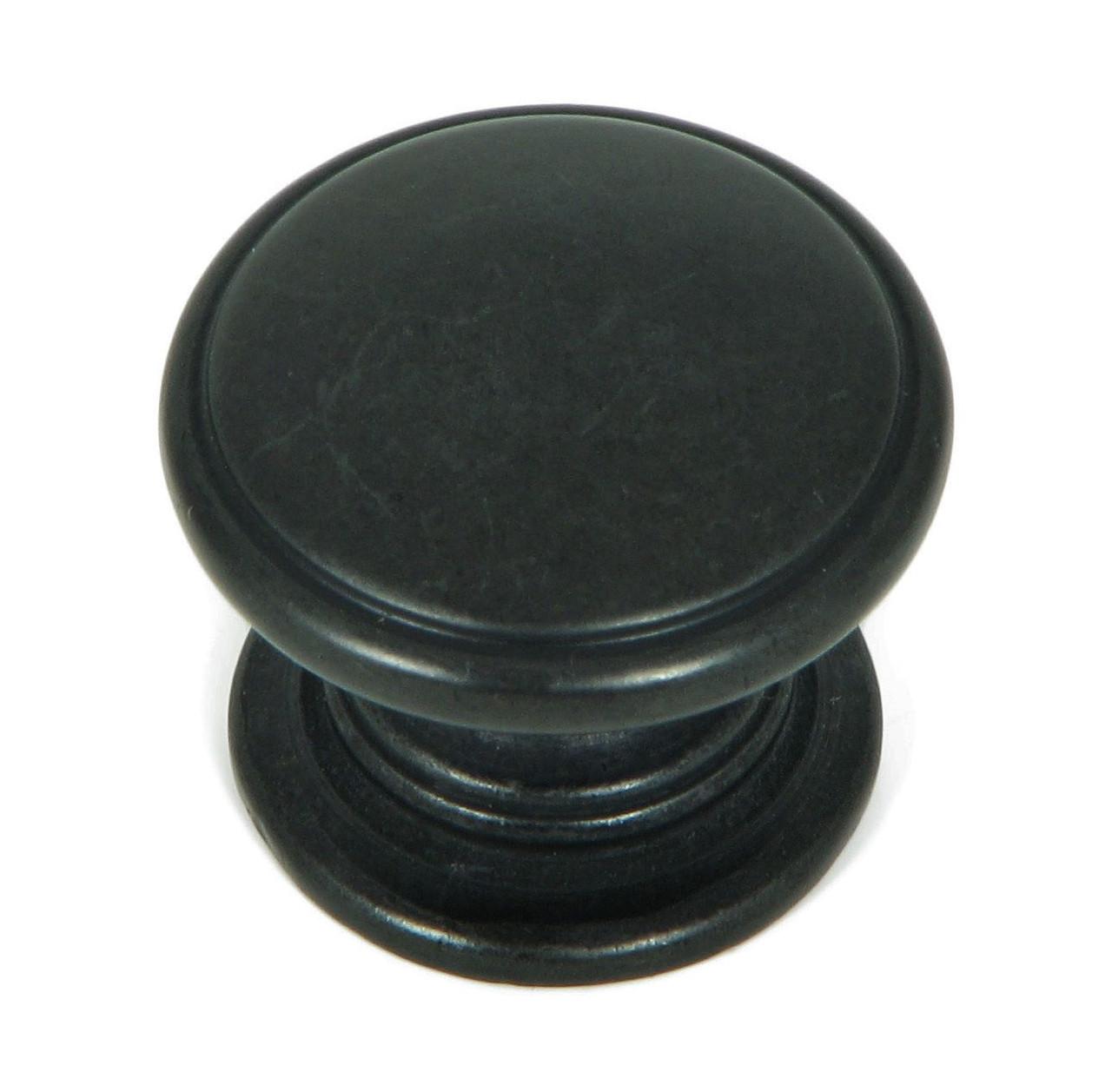 Antique Black Stone Mill Hardware CP82980-BA Caroline Cabinet Knob