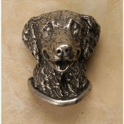 Exceptionnel Anne At Home 45: Golden Retriever Cabinet Knob