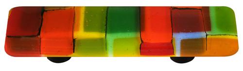 Autumn Aquila Art Glass HK8003-PB Mosaic Collection Pull