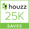 Houzz 25K Saves