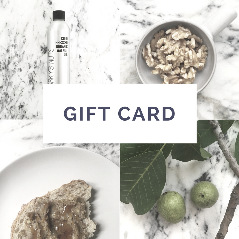 GIFT CARD: this little gift will never expire!