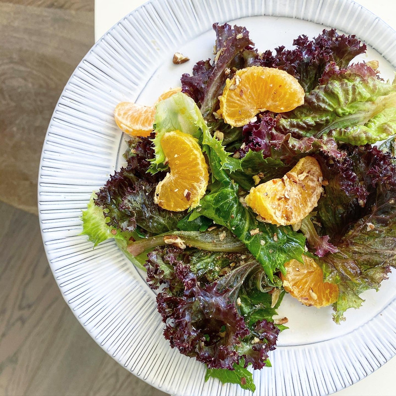 WALNUT OIL & CITRUS DRESSING