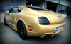 Matte Gold Vinyl Wrap with ADT