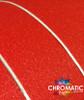 Diamond Sanding Red Vinyl Wrap with ADT
