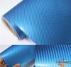 Gloss Deep Blue Carbon Fibre Vinyl Wrap with ADT