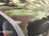 Green Camo Vinyl Wrap with ADT