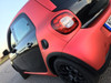 Matte Chrome Red Vinyl Wrap with ADT