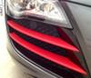 3D Carbon Fibre Red Vinyl Wrap with ADT