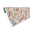 Monkey Style Printed Cartoon Wrap with ADT