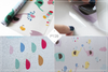 Lullaby Etched Privacy Film - Static Cling