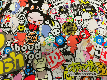 Gumball Style Stickerbomb with ADT