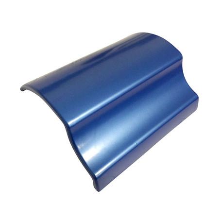 Gloss Deep Blue Vinyl Wrap with ADT