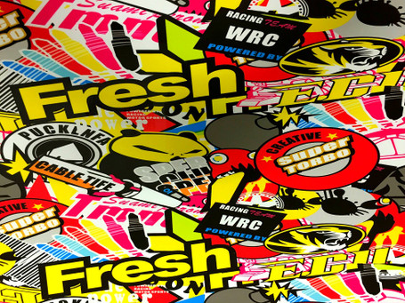 Turbo Style Stickerbomb with ADT