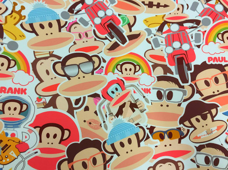 Monkey Style Stickerbomb with ADT