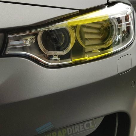 Yellow Headlight + Tail Light Tint Film