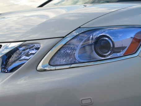 Light Blue Headlight + Tail Light Tint Film
