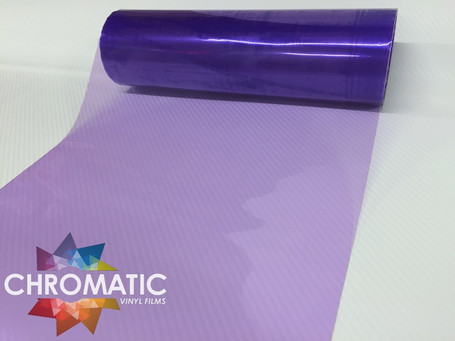 Purple Headlight + Tail Light Tint Film