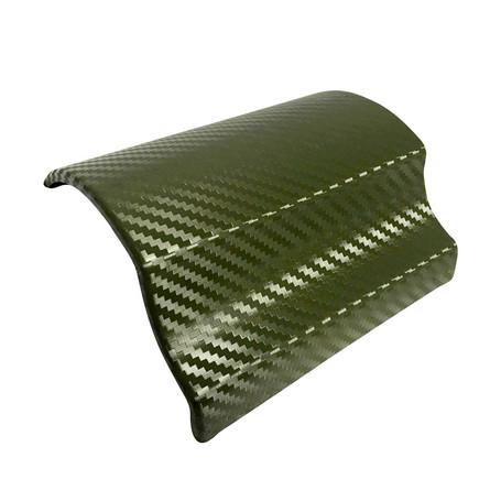 3D Carbon Fibre Military Green Vinyl Wrap with ADT