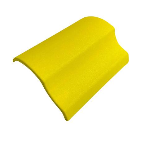Diamond Sanding Yellow Vinyl Wrap with ADT