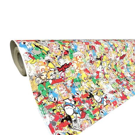 Cartoon Style Stickerbomb with ADT