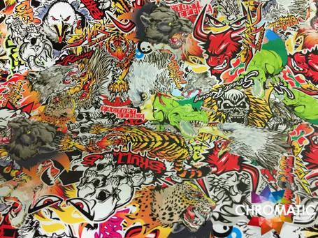 Predators Style Stickerbomb with ADT