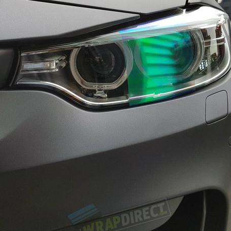 Blue Chameleon Headlight + Tail Light Tint Film