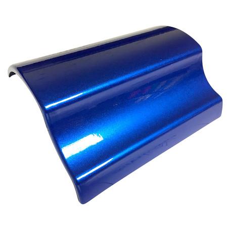Gloss Metallic Blue Vinyl Wrap with ADT