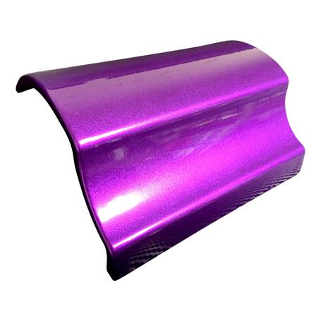 Gloss Metallic Candy Purple Vinyl Wrap with ADT