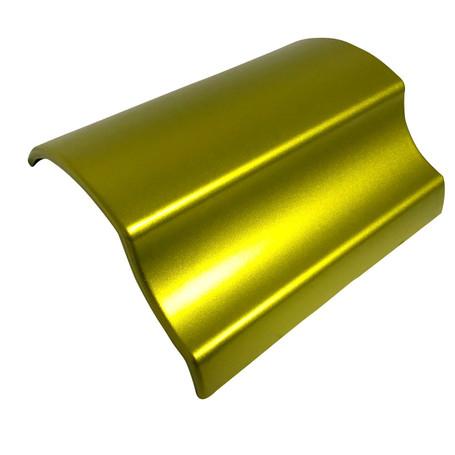 Matte Chrome Yellow Vinyl Wrap with ADT