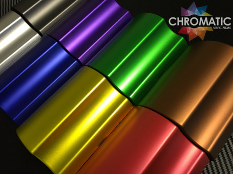Matte Chrome - Full Car Wrap Kit - Vinyl + Tools