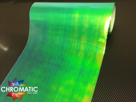 Green Chameleon Headlight + Tail Light Tint Film